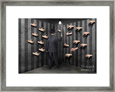 Secret Society Framed Print by Juli Scalzi