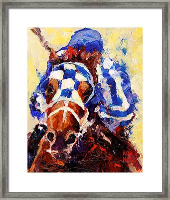 Secretariat Framed Print by Ron and Metro
