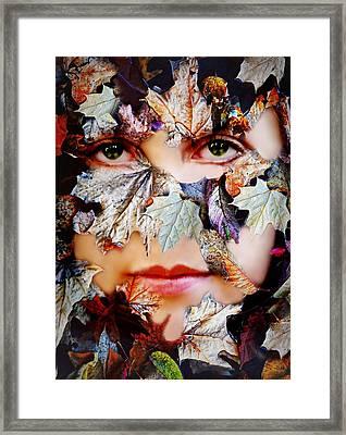 Secrets Framed Print by Diana Angstadt