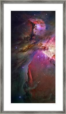 Secrets Of Orion II Framed Print by Ricky Barnard
