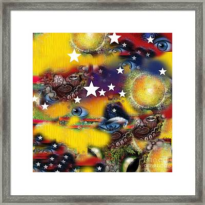 Secrets Of Patriots Framed Print by Carol Jacobs