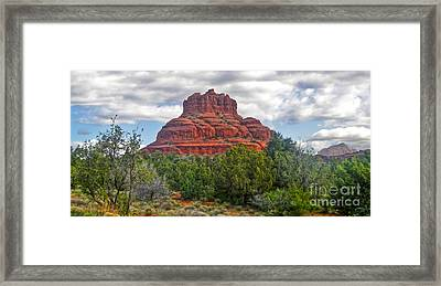 Sedona Arizona Bell Rock Framed Print by Gregory Dyer