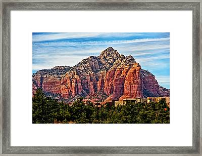 Sedona Arizona Red Rock Framed Print by Jon Berghoff