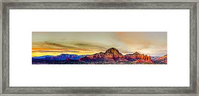 Sedona Colors Framed Print by Michael Petrizzo