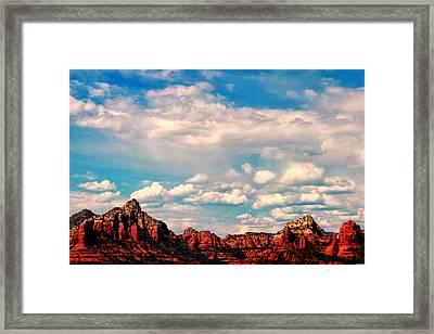 Sedona II Framed Print by Tom Prendergast
