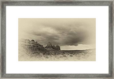 Sedona Landscape Framed Print by Kelly Gibson