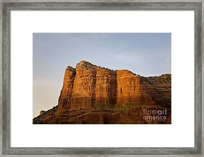 Sedona Landscape Viii Framed Print by Dave Gordon