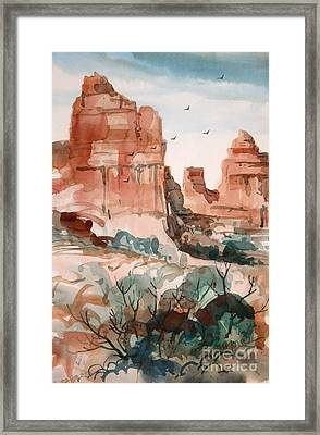Sedona Framed Print by Micheal Jones