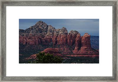 Sedona Red Rock Country  Framed Print by Beverly Guilliams
