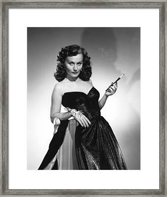 Seductive Florence Marly Framed Print by Underwood Archives