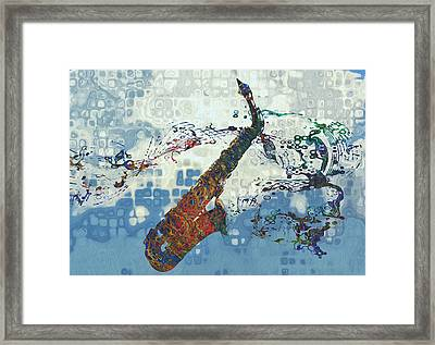See The Sound 2 Framed Print by Jack Zulli