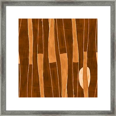 Seed Of Learning No. 1 Framed Print by Carol Leigh