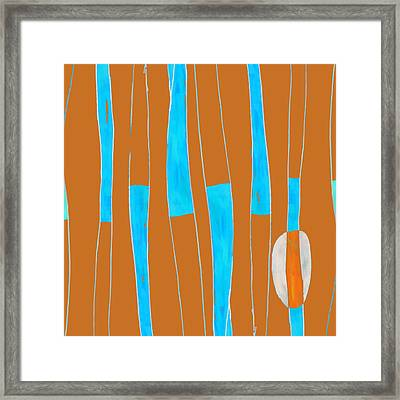 Seed Of Learning No. 2 Framed Print by Carol Leigh