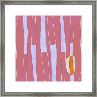 Seed Of Learning No. 4 Framed Print by Carol Leigh