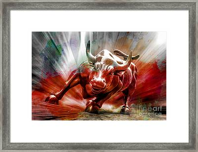 Seeing Red Framed Print by Az Jackson