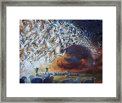 Seeing Shepherds Framed Print by Daniel Bonnell