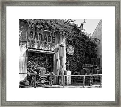Seeing Yesterday Framed Print by Camille Lopez