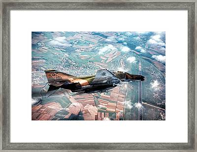 Seek Attack Destroy Framed Print by Peter Chilelli