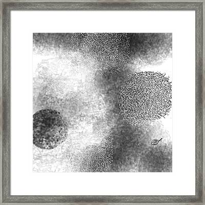 Seeking Definition Framed Print by Mathilde Vhargon