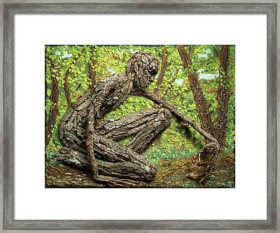 Seeking Wonders Framed Print by Adam Long