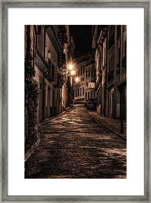 Segovia Predawn Framed Print by Joan Carroll