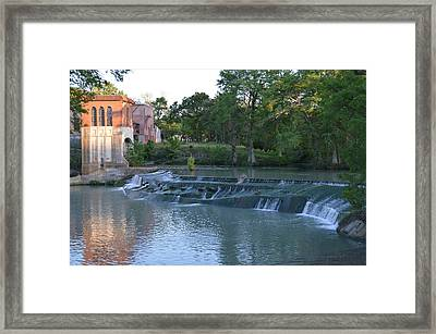 Seguin Tx 02 Framed Print by Shawn Marlow