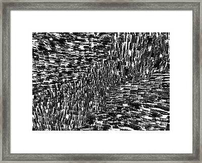Seismic Shift Framed Print by Andy  Mercer