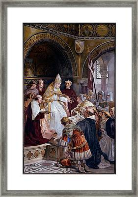 Seitz Ludovico, Pope Benedict Xi Framed Print by Everett
