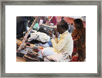 Self Decoration Framed Print by Money Sharma