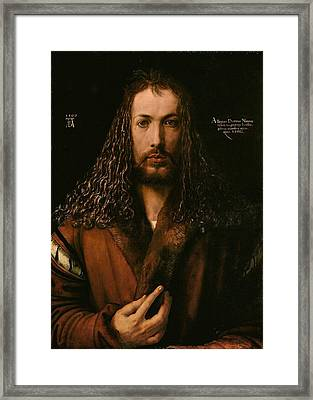 Self Portrait At The Age Of Twenty Eight 1500 Framed Print by Philip Ralley