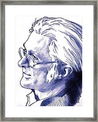 Self Portrait  Framed Print by Dale Michels