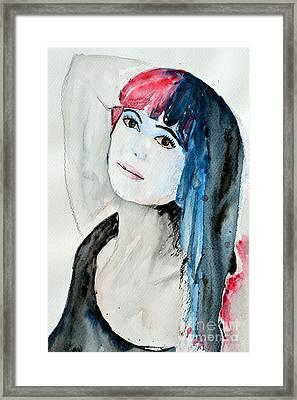 Self Portrait  Framed Print by Ismeta Gruenwald