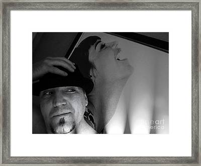 Self Portrait Framed Print by Kip Krause