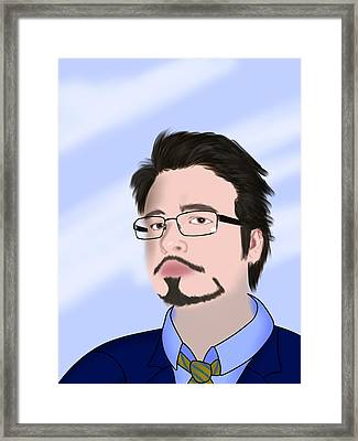 Self Portrait Framed Print by Tony Stark