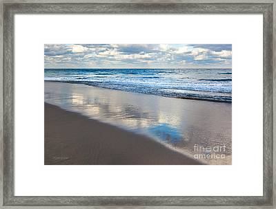 Self Reflection Framed Print by Michelle Wiarda