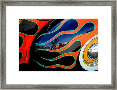 Self Shot Framed Print by Frozen in Time Fine Art Photography