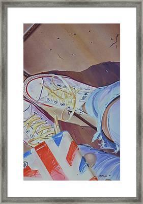 Selfie Framed Print by Marco Ippaso