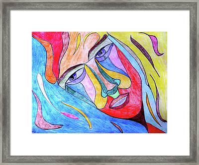 Selfless Framed Print by Donna Blackhall