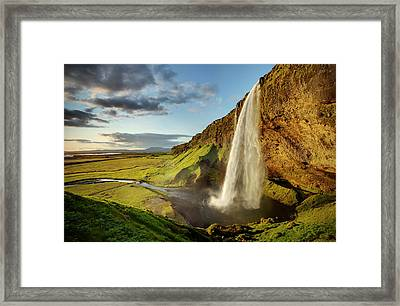 Seljalandsfoss Iceland Framed Print by Peter OReilly