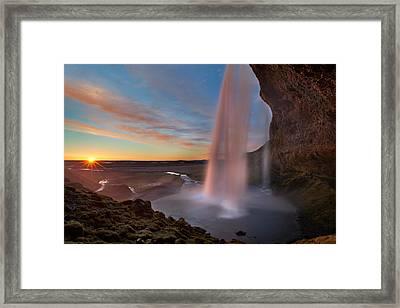 Seljalandsfoss Framed Print by Iurie Belegurschi
