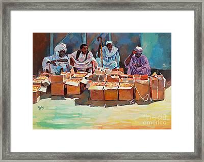 Sellers Framed Print by Mohamed Fadul
