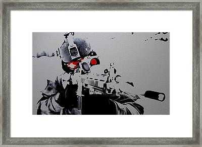 On Target Framed Print by Brian Reaves