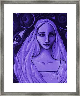 Send Me To His Dream Framed Print by Danielle R T Haney