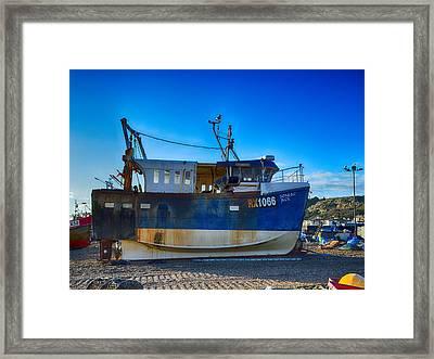 Senlac Jack Framed Print by Sharon Lisa Clarke
