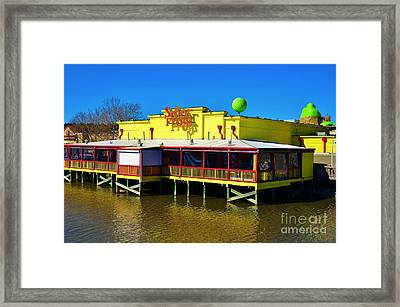 Senor Frogs Myrtle Beach Water Front View Framed Print by Bob Sample