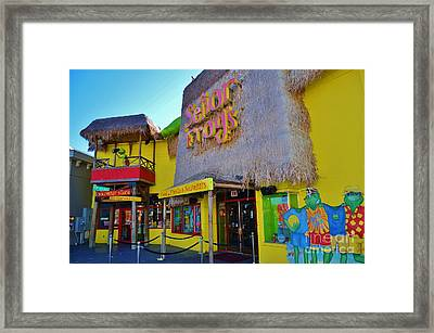 Senor Frogs Myrtle Beach Store Front Framed Print by Bob Sample