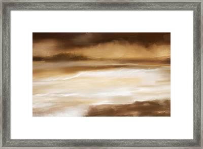 Sense Of Calmness Framed Print by Lourry Legarde