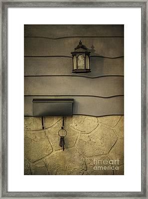Sense Of Home Framed Print by Evelina Kremsdorf