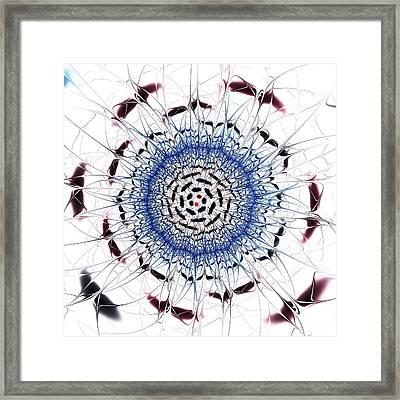 Sensory Overload Framed Print by Anastasiya Malakhova