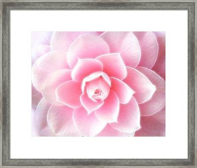 Sensual Abstraction Framed Print by Georgiana Romanovna